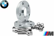 BMW 10mm Wheel Spacer Kit 5x120 Fits E36 E46 E60 E61 E90 E91 12x1.5 Chrome Bolts