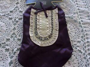 Purple RUFFLE Dog Dress XS new Pet Boots & Barley Xsmall