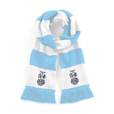 Coventry City Sky/White Traditional Football Scarf Embroidered Logo