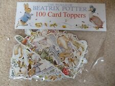 New The World of Beatrix Potter 100 Card Toppers Various sizes
