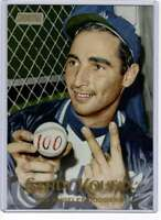 Sandy Koufax 2019 Topps Stadium Club 5x7 Gold #192 /10 Dodgers
