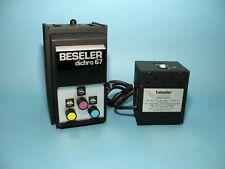 Beseler Dichro 67 Enlarging Head and Power Supply – Very Clean