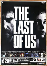 THE LAST OF US RARA ps3 51.5 CM x 73 giapponese PROMO POSTER #1