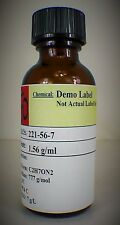 Ferric Chloride 42 degree baume solution, 30 mL amber glass bottle