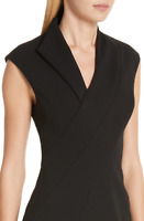 TED BAKER Geodese Wrap Pencil Dress RRP £179 Size 4 UK 14 Elegant