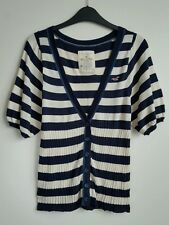 HOLLISTER STRIPED CARDIGAN TOP SIZE M EXCELLENT CONDITION
