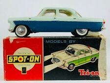 TRIANG SPOT-ON -FORD ZODIAC No. 100- VINTAGE COLLECTORS BLUE CAR MODEL -BOXED-