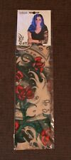 "NEU Nylon Tattoo Ärmel Sleeve Rockabilly Skin ""True Love"" Onesize Kostüm"