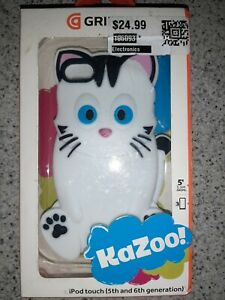 Griffin Kazoo Case For iPod Touch 5th and 6th Generation Case - Kitty Cat White
