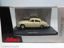 Schuco : Jaguar MK. II beige  No: 25511  Scale 1:87