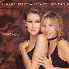 CD SINGLE Barbra STREISAND & Céline DION Tell him 3-track AUSTRALIA CARD SLEEVE