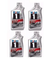 4 Quarts - Mobil 1 10W-40 Full Synthetic Motorcycle Oil, 1 qt. 4T 4 Cycle NEW