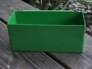 NEW GREEN DEEP DRAWER SAFETY GLASSES SPECIAL TOOL SMALL PARTS TRAY snap 2 use