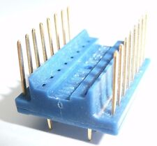 2 x Support 16 Pin double lyre a wrapper au-dessus DIL DIP 16