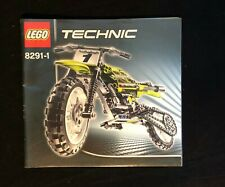 Instruction Nr 8291 LEGO® Bauanleitung