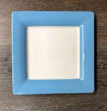 Villeroy & Boch Wonderful World Blue Square Salad Plate ~new~