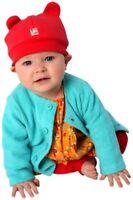 NEW Zutano Baby Brown Red Pink Aqua Pool Fleece Jacket Cozie Sweater 6 12 18 24M