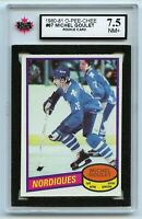 1980-81 OPC #67 Michel Goulet RC Graded 7.5 NM+ (*G2020-167)