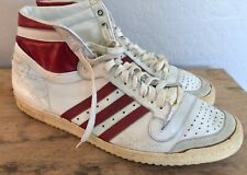 Vintage Signed Adidas Top Ten Basketball Shoes Size 14.5 - Unknown Signature