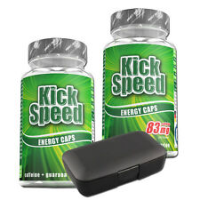 Best Body Kick Speed (19,38€/100g) 2 Dosen a´60 Kapseln + 1 gratis Tablettendose