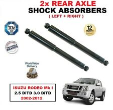 REAR LEFT + RIGHT SHOCK ABSORBERS SET for ISUZU RODEO I 2.5 3.0 DiTD 2002-2012
