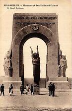 CPA MARSEILLE Monument des Poilus d'Orient (403313)