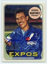 2019 Topps Archives DENNIS MARTINEZ mtla MONTREAL EXPOS AUTO AUTOGRAPH 50 YEARS