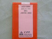 Gewindeplatten von CPT, 22IL 5,0 ISO MXC