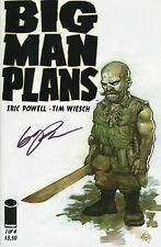 """BIG MAN PLANS #1 SIGNED BY THE CREATOR & ARTIST OF """"GOON"""" ERIC POWELL"""