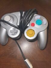 Nintendo GameCube OEM Controller Platinum Silver DOL-003 Tight Sticks