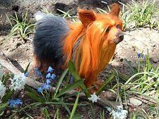 Australian Silky Terrier Dog Furry Animal plush Replica d639 Free Shipping Usa