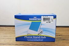 Cell Phone Stand & 4 Port Hi-Speed USB Hub Smart Phones Universal iPhone Android