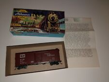 Athearn Trains Fever River Railroad Train Car With Box And Note/Stickers Rare
