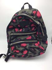 $178 Marc by Marc Jacobs Domo Arigato Leopard Raspberry Biker Backpack BPU89