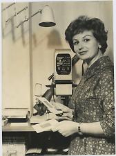 Nicoletta Orsomando Vintage silver print,Nicoletta Orsomando, all'anagraf