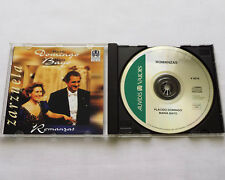 Placido DOMINGO - Maria BAYO Romanzas FRENCH CD VALOIS V 4818 (1997) MINT/EX