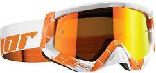 Thor Sniper Chase Goggles Orange/White MX Motocross Enduro Off-Road MTB DH SKI