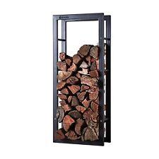Scandia Design Fireplace Firewood Log Holder Steel Wood Storage Rectangular 50kg