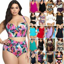 Women Plus size Summer Holiday Swimwear Tankini / Monokini Bathing Bikini Beach
