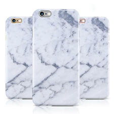 DYEFOR FAUX MARBLE GREY WHITE CASE COVER FOR APPLE IPHONE MOBILE PHONES