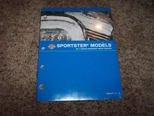 2011 Harley Davidson Sportster XL 883 1200 Nightster Hugger Parts Catalog Manual