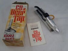 Vintage Conax Tip-Tap Beer Tap CO2 Cartridge in handle Design w/ Box