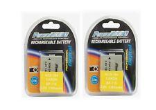 2 BP110 Batteries for Canon HFR20 HFR21 HFR26 HFR27 HFR28 HFR200 HFR205 HFR206