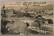 AUSTRIA TEPLITZ SCHÖNAU VIAGGIATA fp ANNI 10 #18512