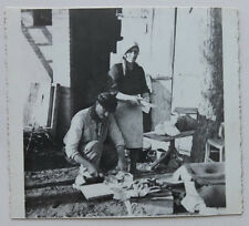 Foto epoca Associazione Partigiani d'Italia ANPI 1944 partigiani al lavoro Savio