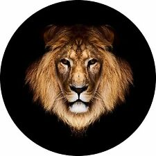Lion Head Spare Tire Cover Jeep Rv Camper Trailer etc(all sizes available)