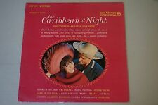 RCA VICTOR INTERNATIONAL THE CARIBBEAN AT NIGHT FSP 116 LP RECORDED IN BRAZIL NM