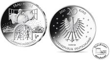 BRD 20 Euro 2021 Grimms Märchen (10.) Frau Holle 925er Silber *ST*