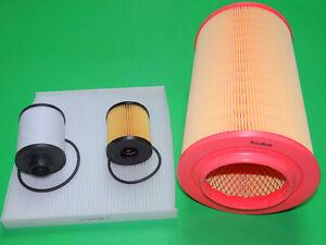 Ölfilter Dieselfilter Luftfilter Pollenfilter Fiat Ducato III 2.2 D (74kW/100PS)