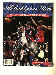 Philadelphia 76ers - 1994/1995 Team Yearbook  - MINT CONDITION